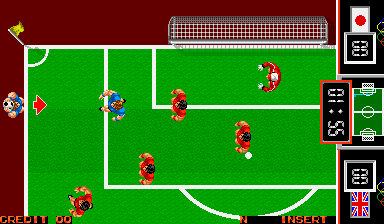 战斗足球-集合摇杆hack版