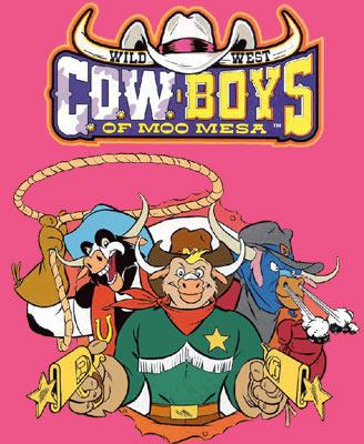 西部牛仔4人卡通版