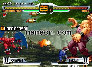 Svc混沌 Snk对Capcom克隆版