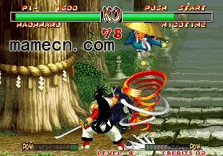 侍魂2 Samurai Shodown II基本操作出招表