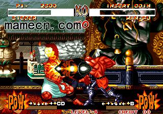 侍魂2 Samurai Shodown II出招表