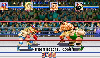 PSP摔跤霸王