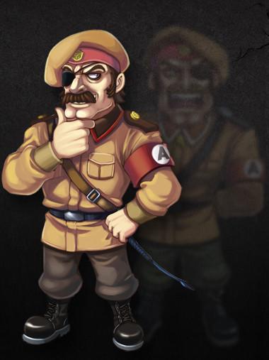 原创街机败家讲坛:合金弹头-莫登传 希特勒和萨达姆的结合体