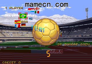 经典街机游戏赏析0046:足球 Football Champ