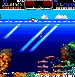 原创赏析:海底大战争-由潜艇担当主角的精品横版射击游戏
