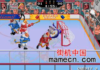 暴力冰上曲棍球