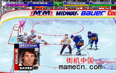 冰上曲棍球公开赛 二对二双打