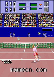 網球絕招 近身攻擊