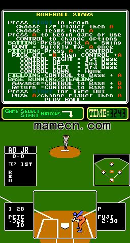 棒球之星PlayChoice