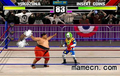 摔跤 WWF疯狂摔跤