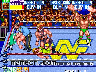 WWF狂热摔跤