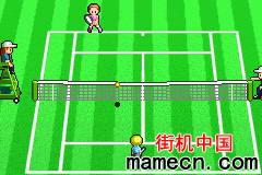 【GBA】超真实女子网球赛口袋版