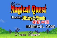 【GBA】迪斯尼的米奇老鼠