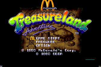 麦当劳叔叔的黄金岛冒险