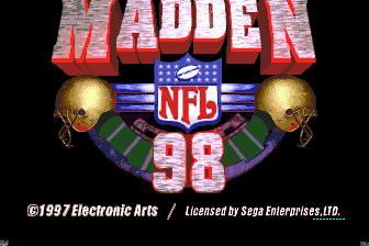 约翰麦登橄榄球98