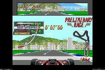 超级摩纳哥赛车