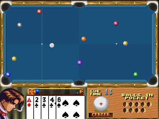 扑克花式台球