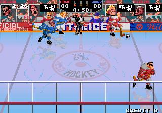 暴力冰上曲棍球美新版