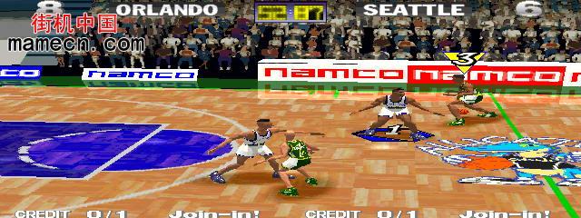 疯狂二人篮球亚洲版 Dunk Mania (Asia, DM2/VER.C)