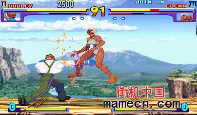 街头霸王3 Street Fighter III - 3rd Strike出招表